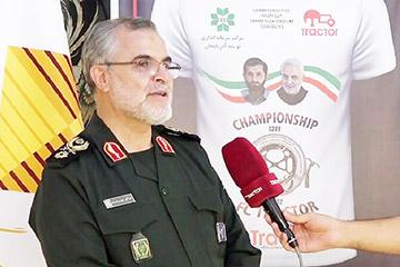 معاون هماهنگ کننده نیروی زمینی سپاه