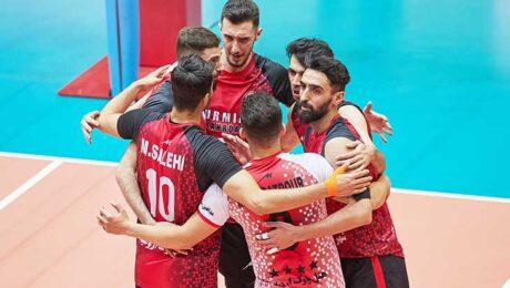 تیم والیبال شهرداری ارومیه