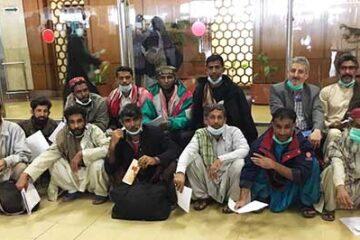آزادی ۱۷ ملوان ایرانی از زندان کراچی پاکستان